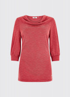 Ballymote Top - Ruby Red
