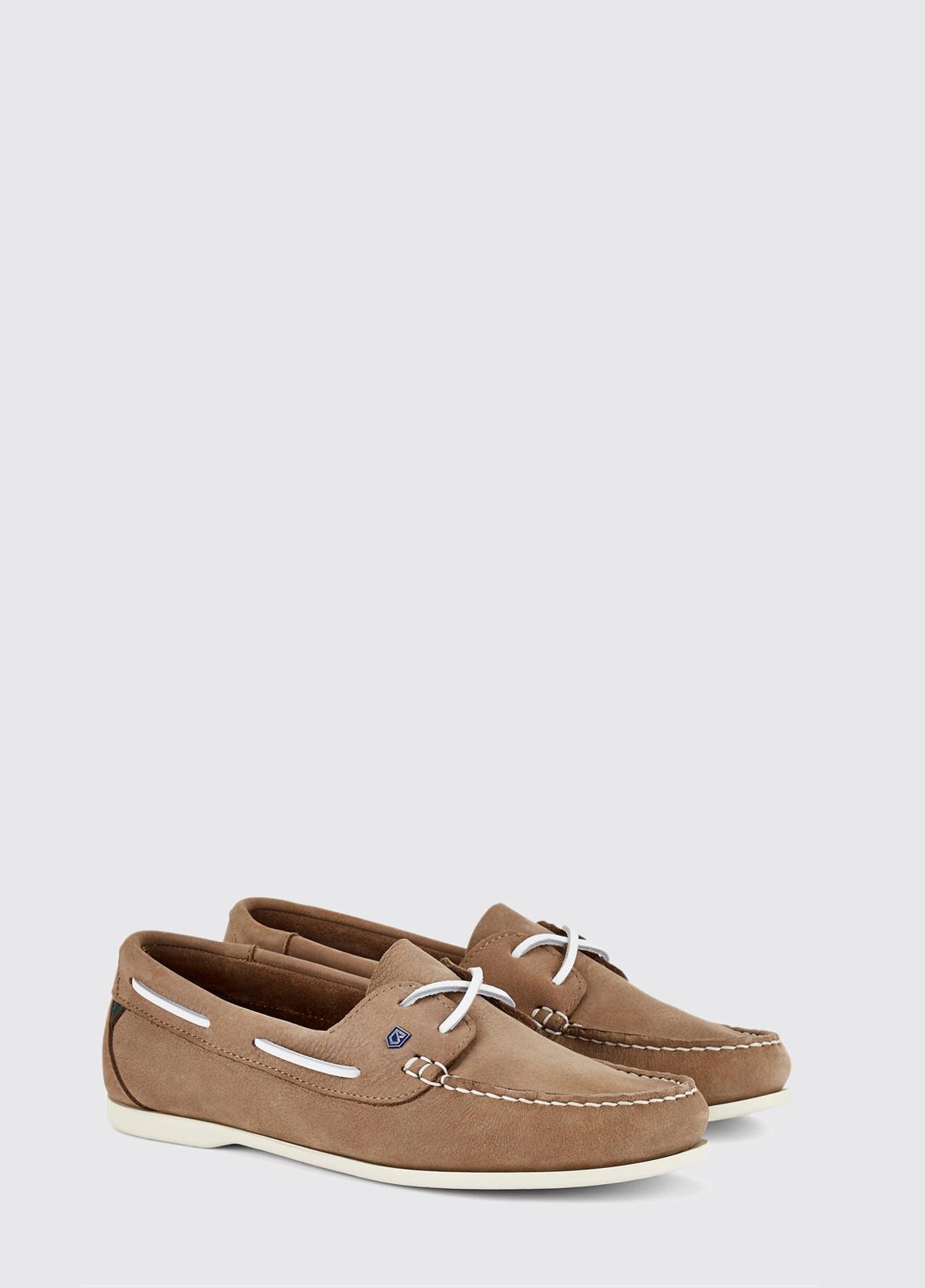 Aruba Deck Shoe - Taupe