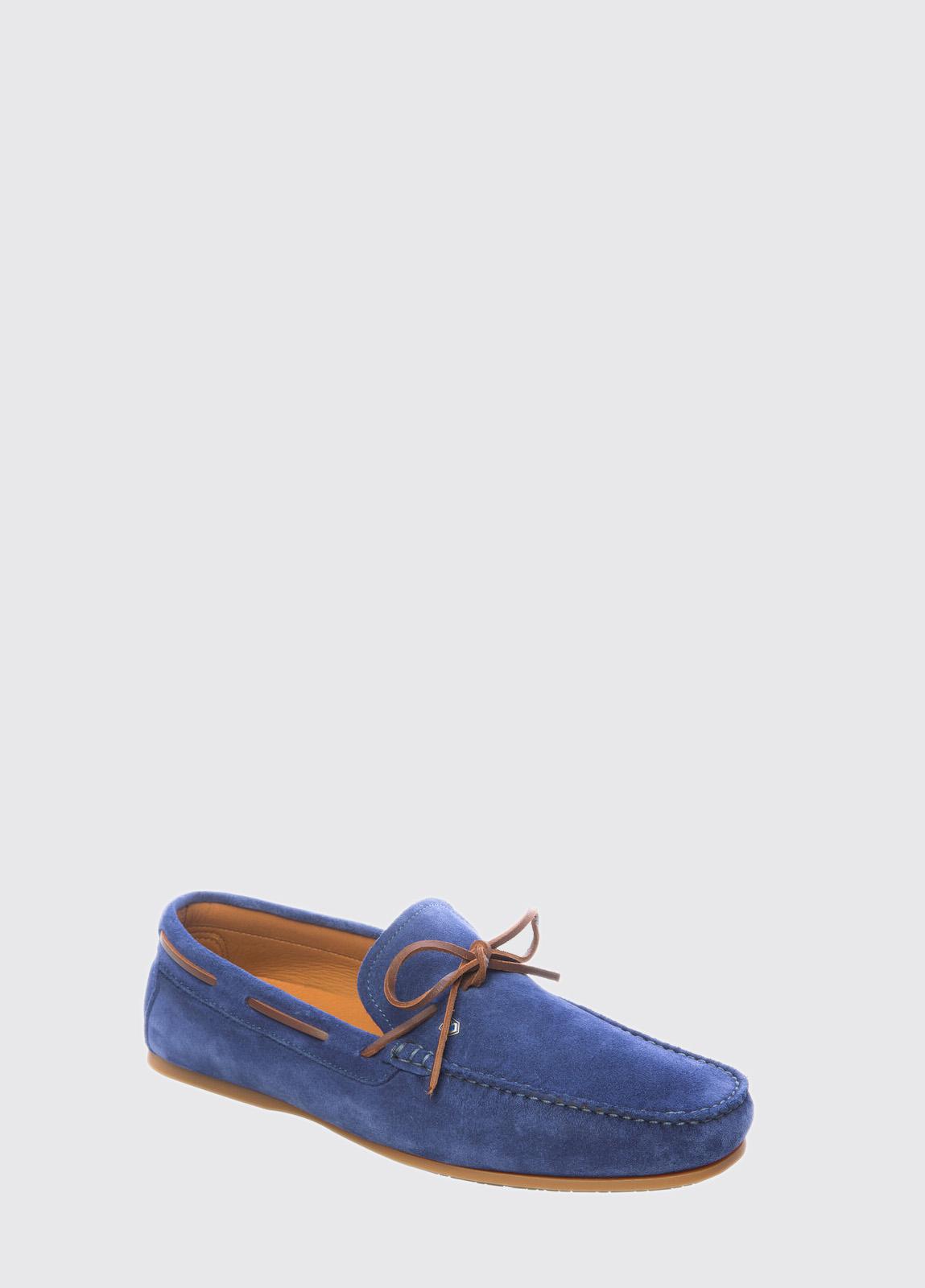 Corsica Mens Deck Shoe - Cobalt