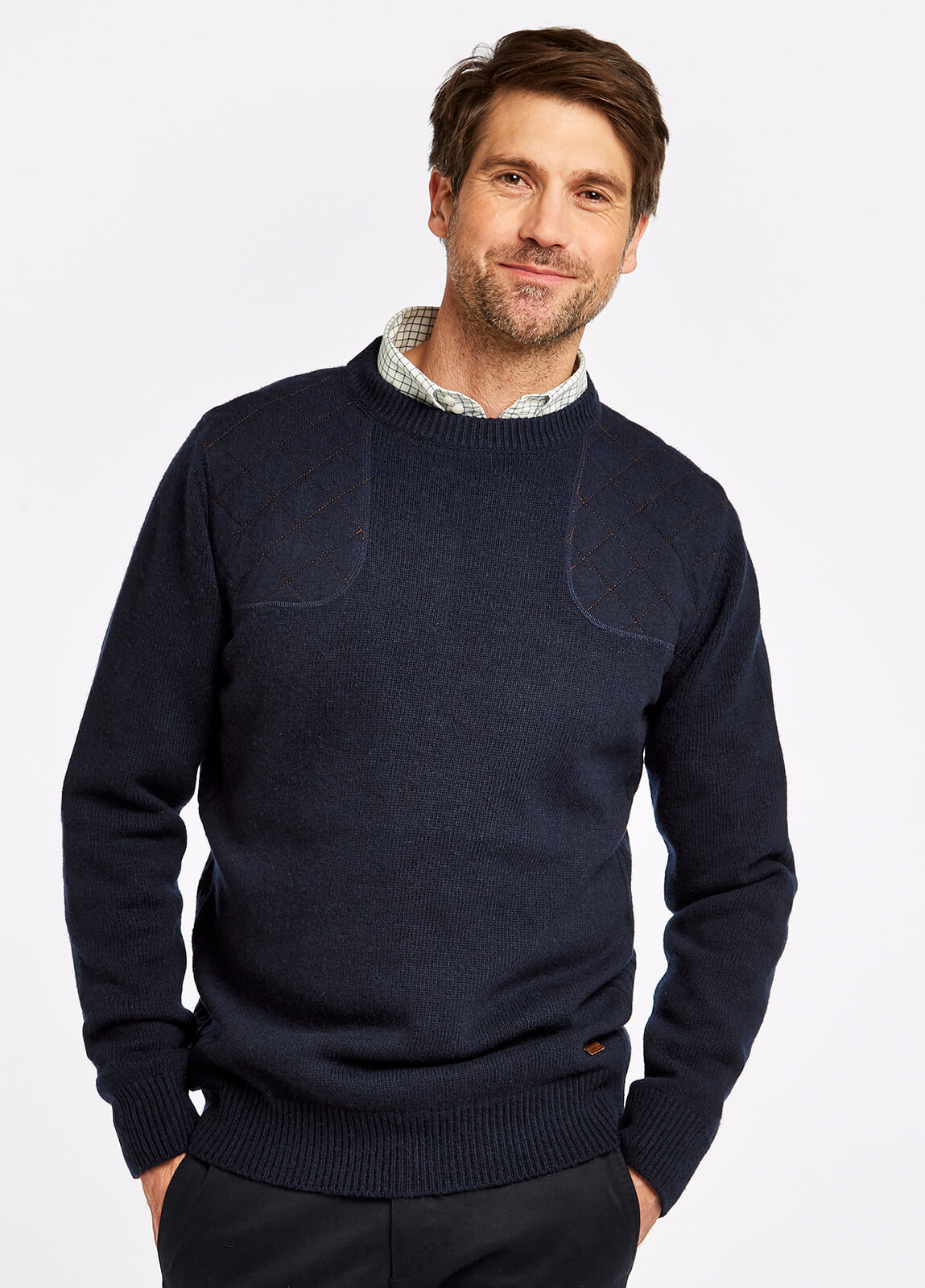 Nolan Knitted Sweater - Navy