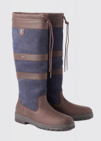 Galway SlimFit™ Country Boot - Navy/Brown