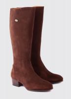 Downpatrick Knee High Boot - Cigar