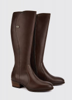 Downpatrick Knee High Boot - Old Rum