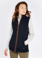 Sheedy Knit Bodywarmer - Navy