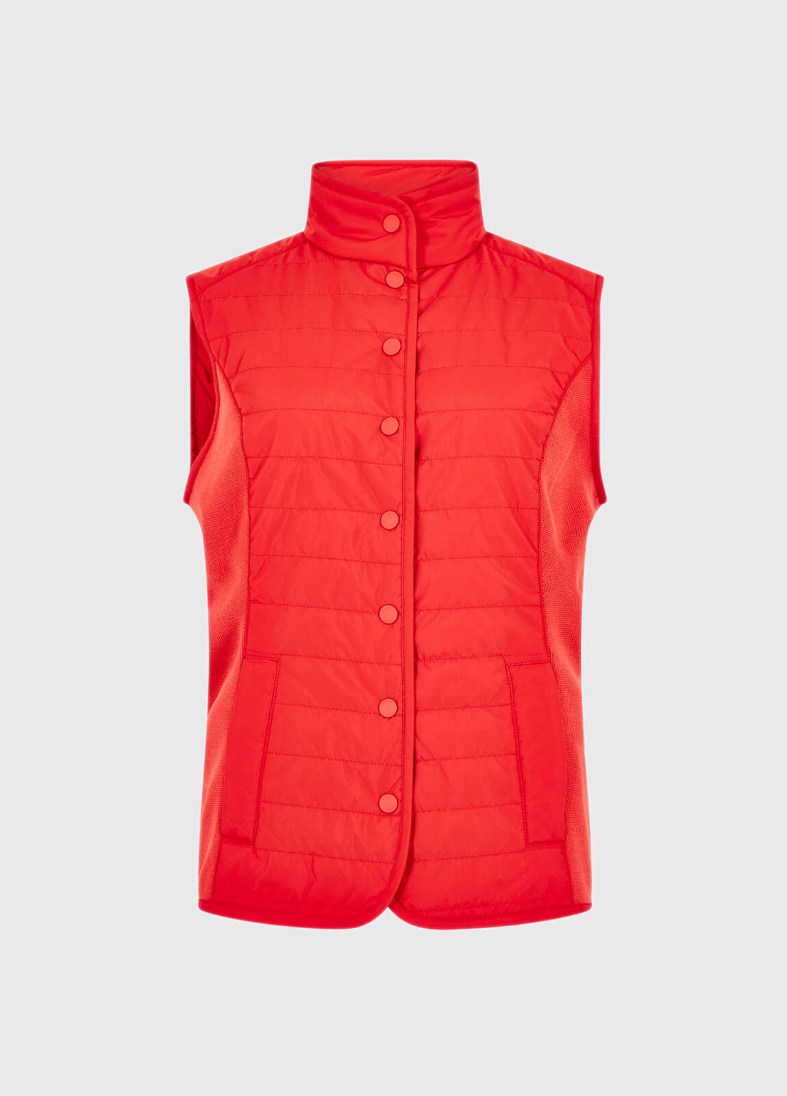 Bayview Gilet - Poppy