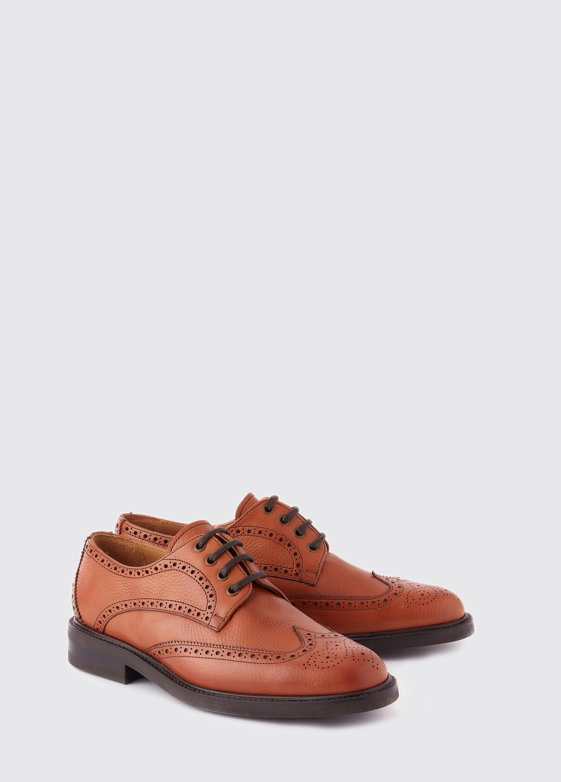 Derry Goodyear Brogue Boot - Tan