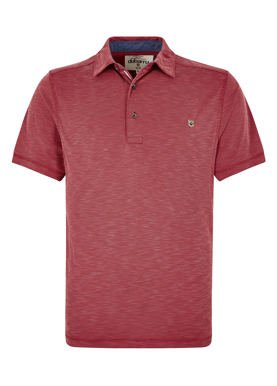 Dubarry_Elphin Polo Shirt - Ruby Red_Image_2