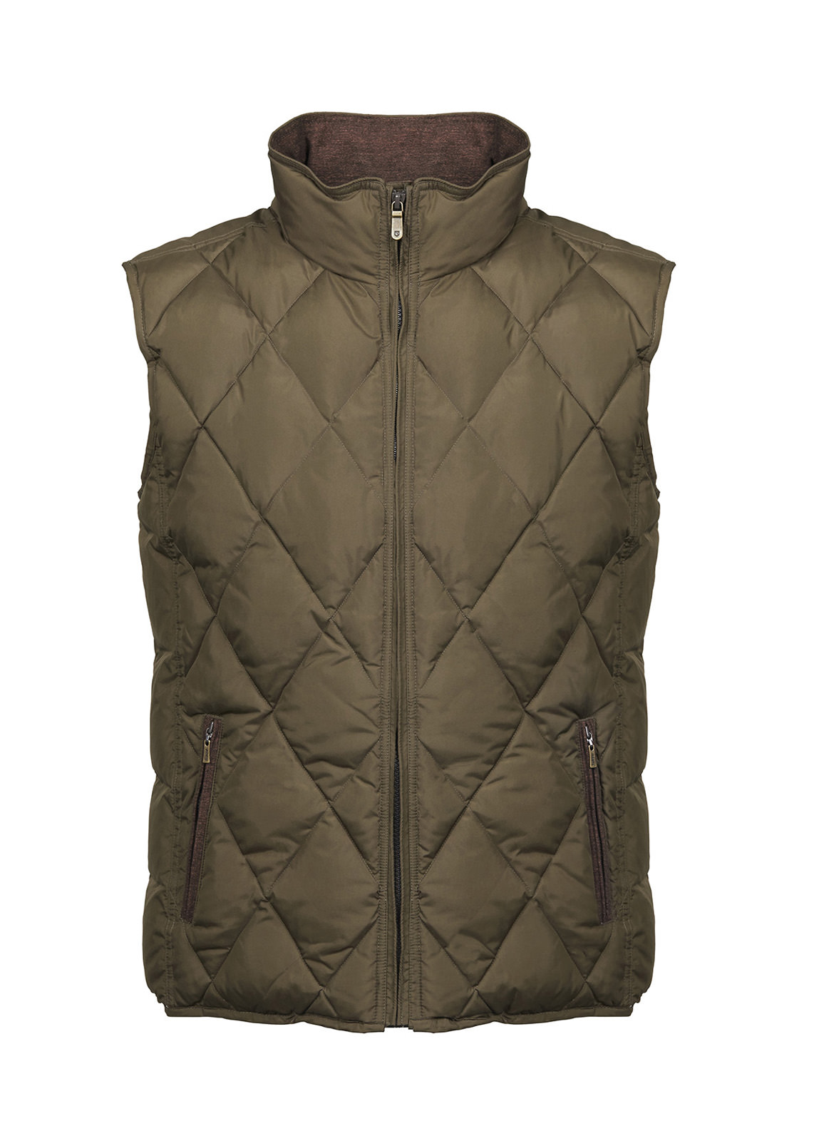 Mulranny Men's Quilted Gilet - Olive