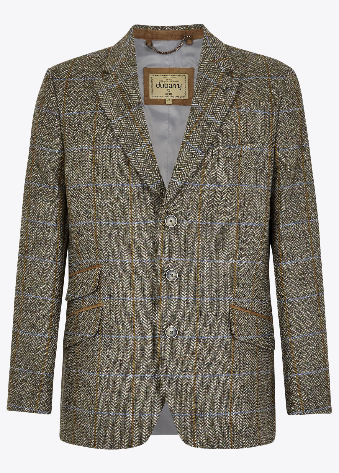 Rockingham Tweed Jacket - Woodbine