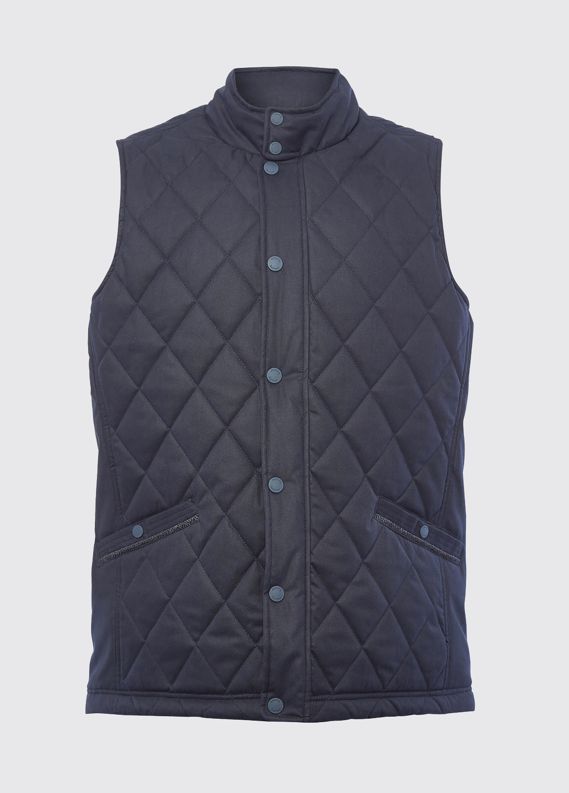 Clarke Quilted Gilet - Navy