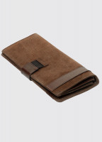 Milltown Leather Travel Wallet - Walnut