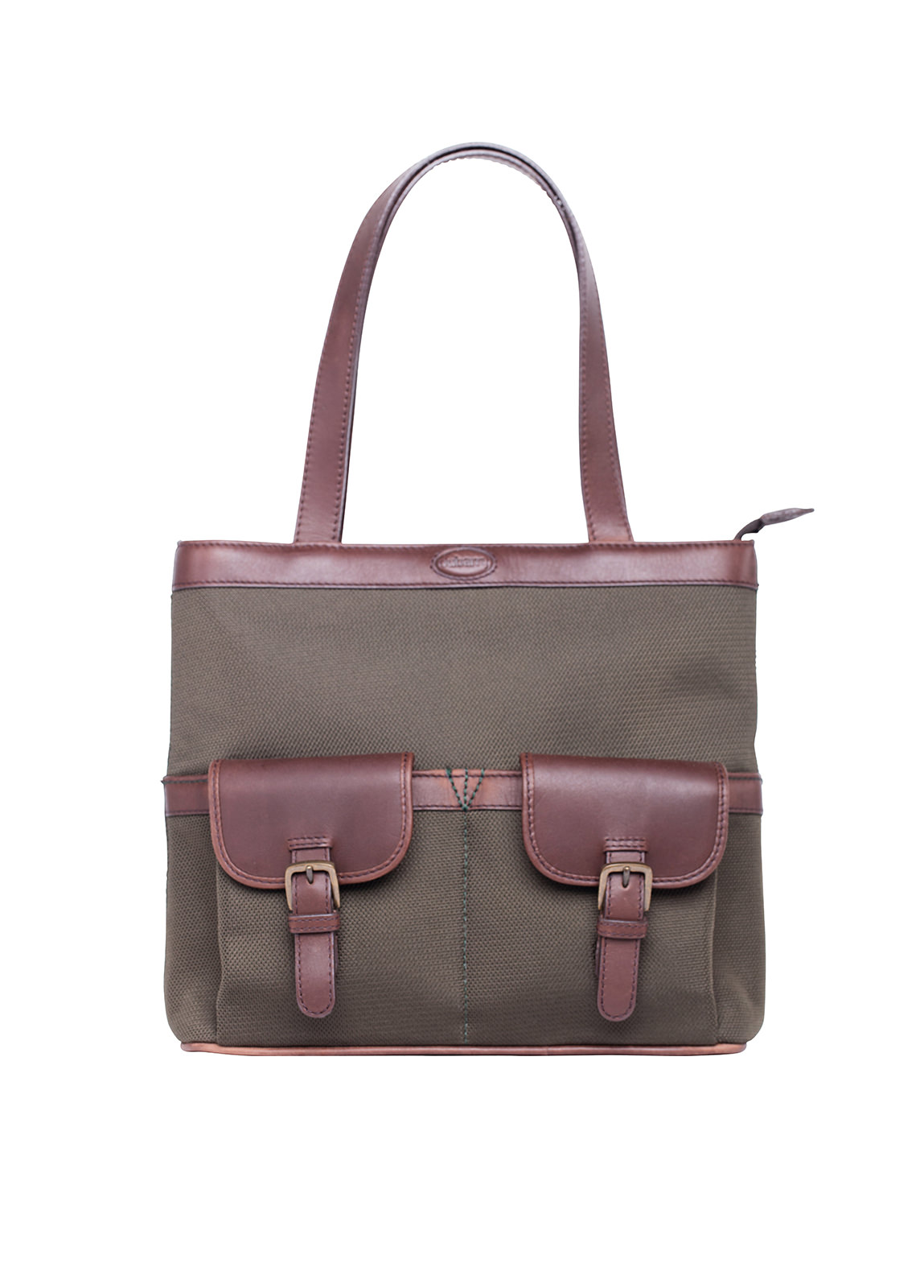 Raheen Tote-Style Shoulder Bag - Olive