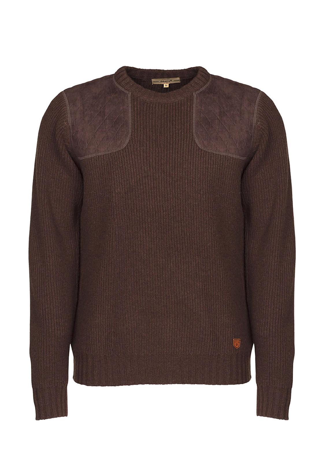 Dubarry_ Mulligan Men's Sweater - Chestnut_Image_2