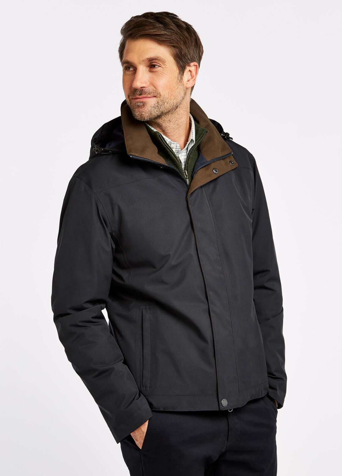 Palmerstown_Jacket_Navy_on_model