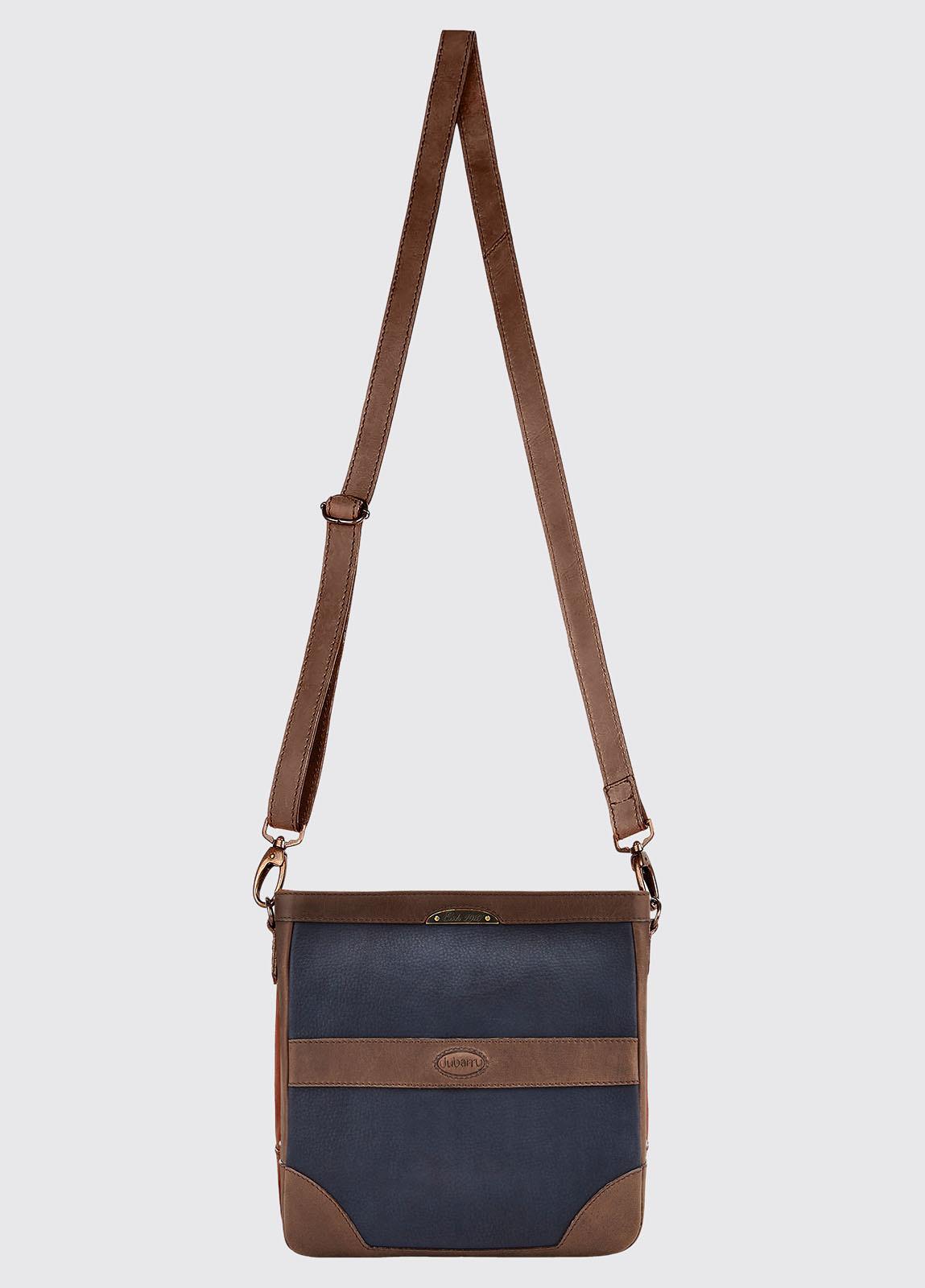 Ardmore Cross Body Bag - Navy/Brown