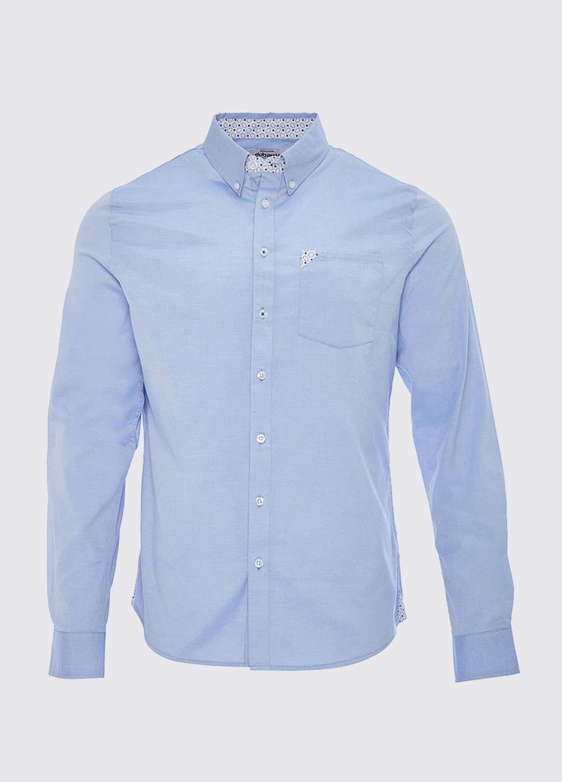 Rathdrum Pinpoint Oxford Shirt - Blue