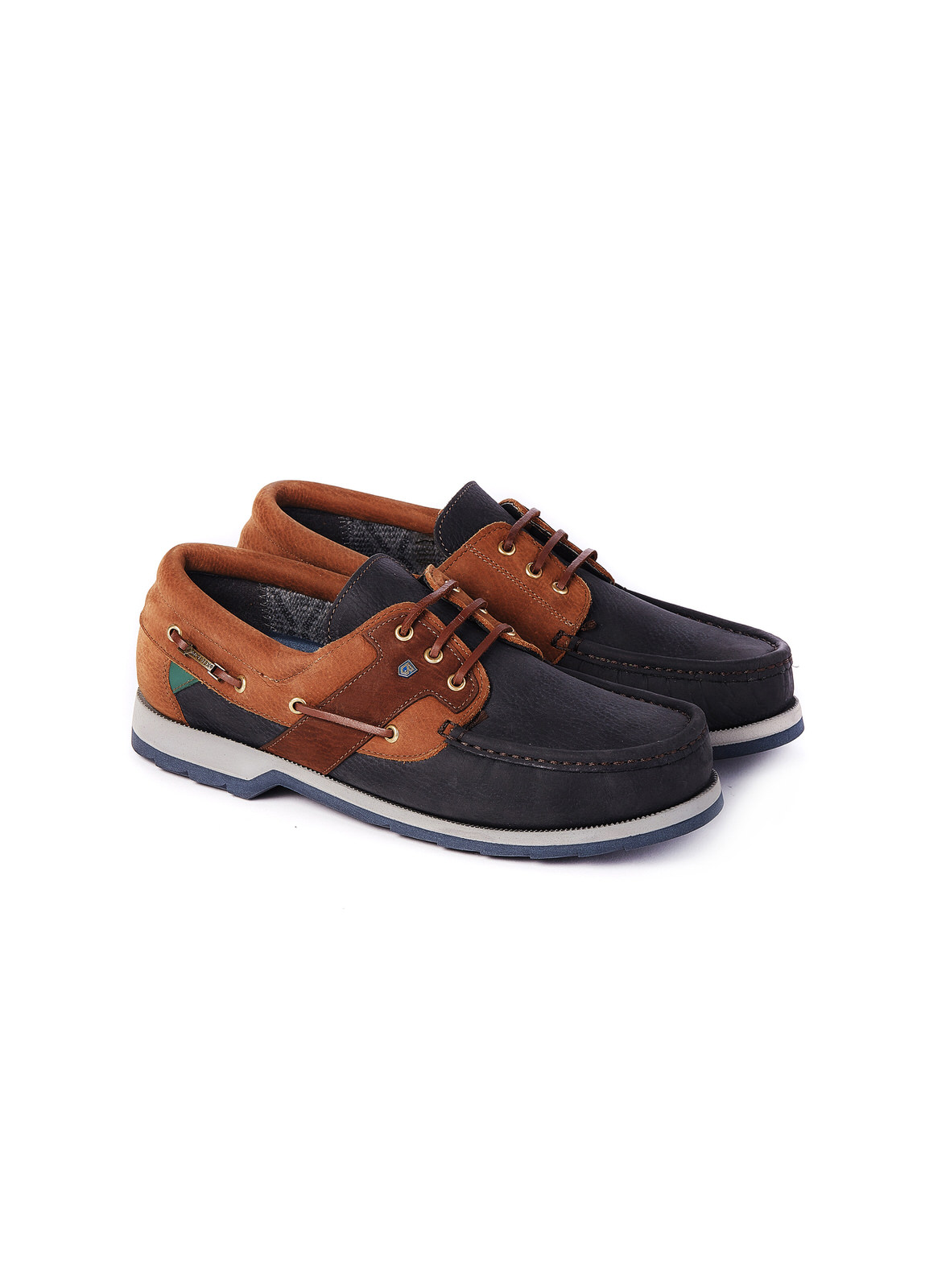 Clipper_Deck_Shoe_Navy/Brown_Image_1