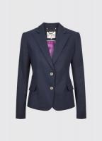 Blairscove Women's Linen Blazer - Navy