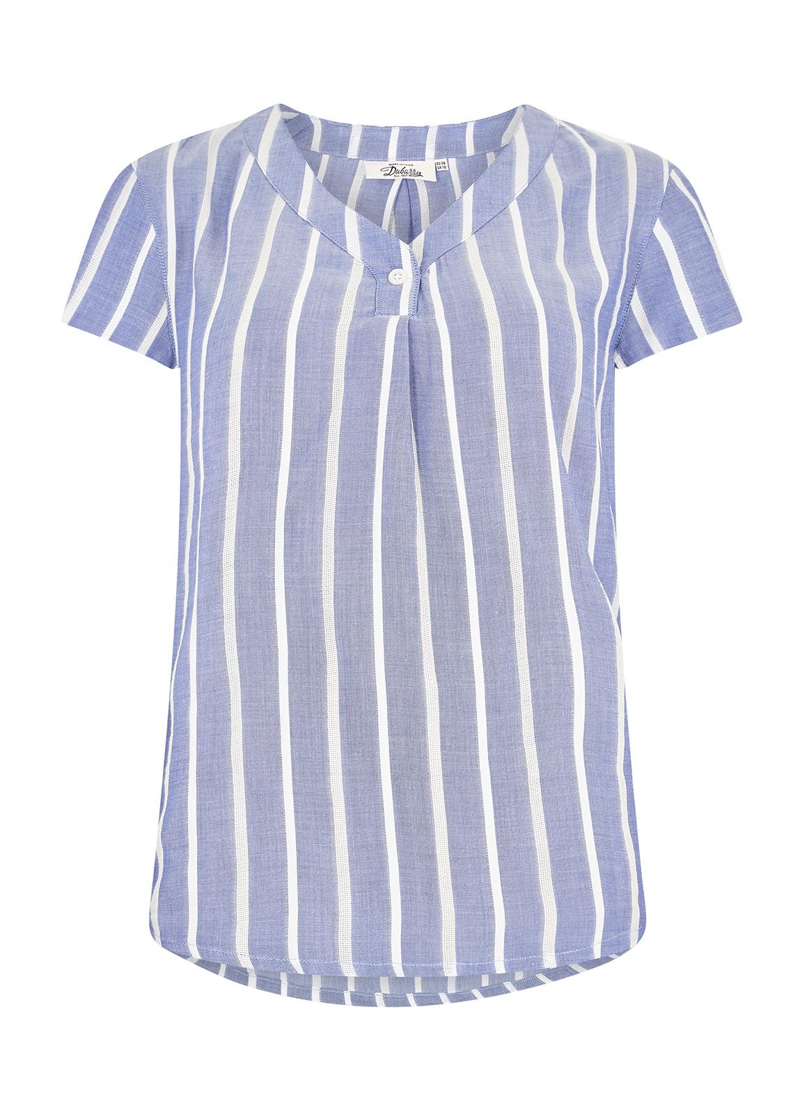 Dubarry_Gardenia Shirt - Royal Blue_Image_2