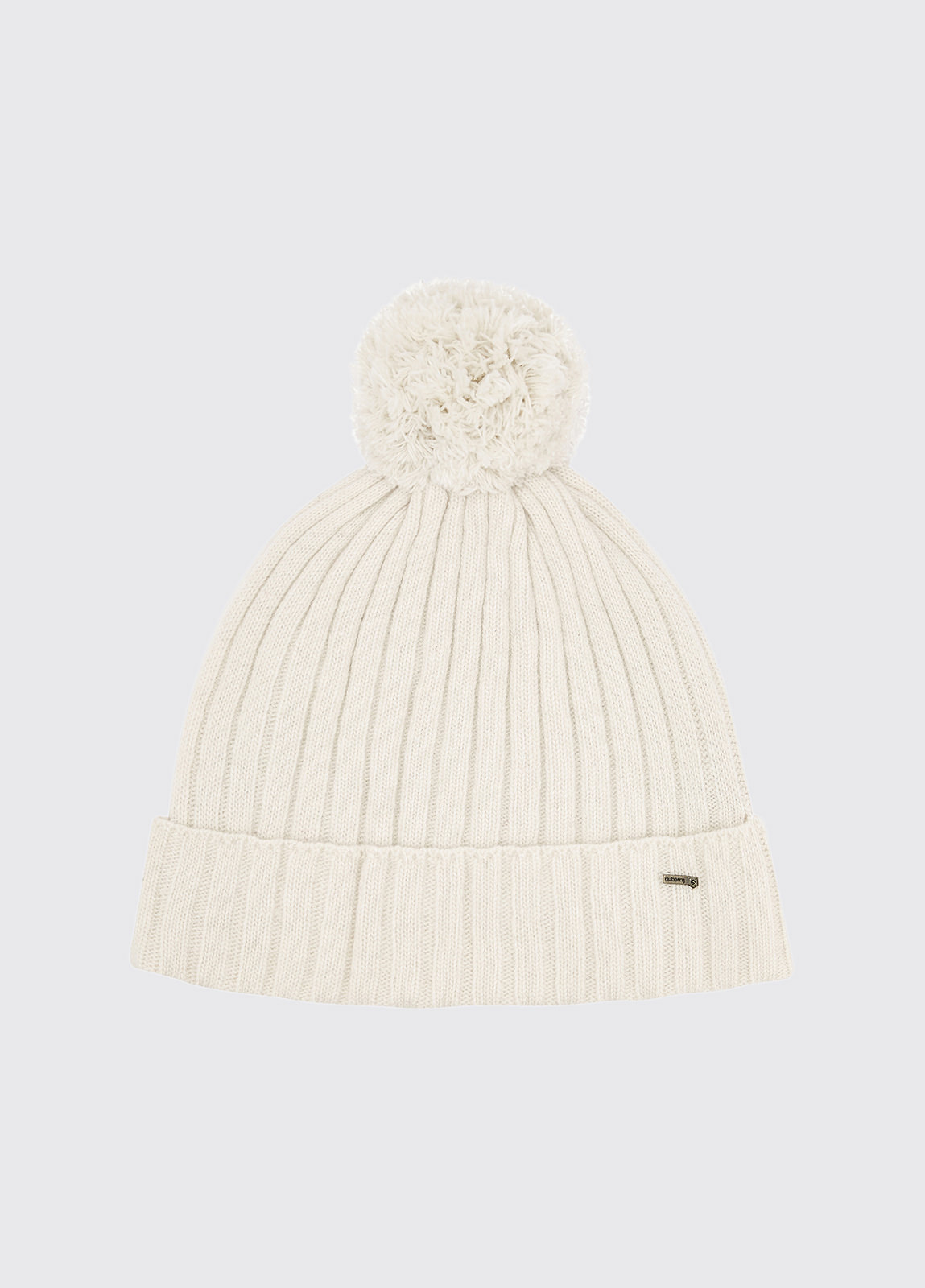 Stewart Bobble Hat - Chalk