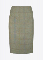 Fern Tweed Skirt - Connacht Acorn