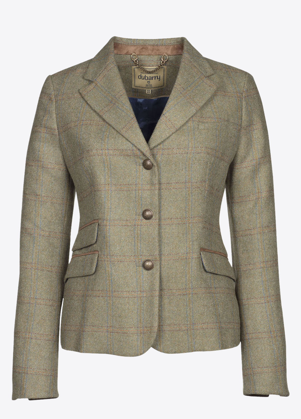 Buttercup Tweed Jacket - Acorn