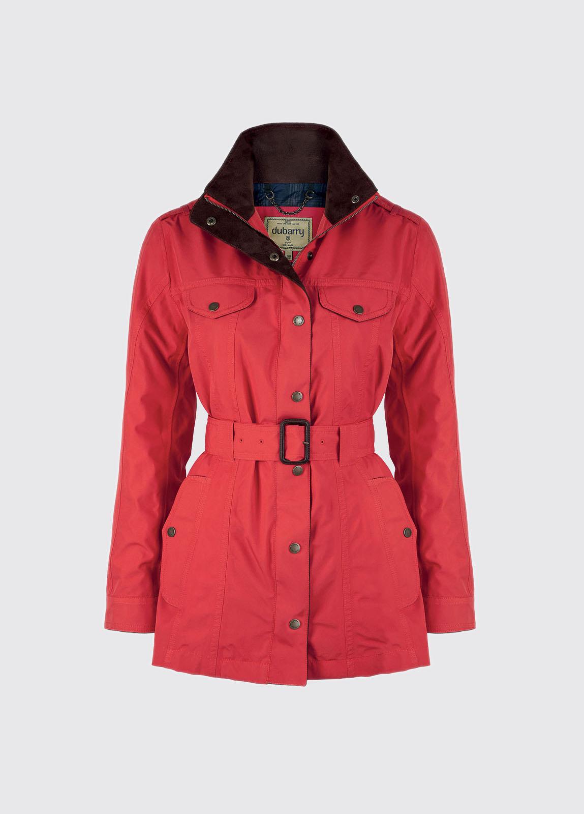 Swift Ladies Waterproof Jacket - Red