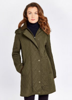 Jamestown Quilted Jacket - Olive