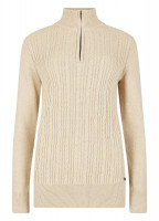 Garvey Knitted Sweater - Oyster