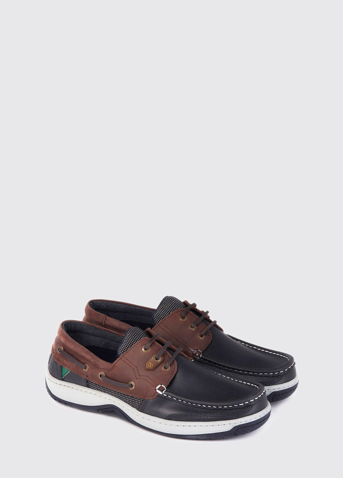 Regatta Deck Shoe - Navy/Brown