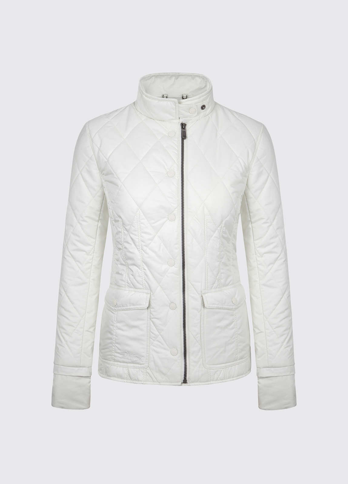 Carra Women's Quilted Jacket - Sail White