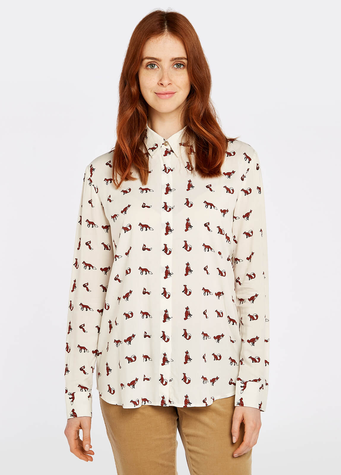 Delphine Shirt - Cream