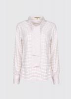 Wildrose shirt - Navy/Bordo