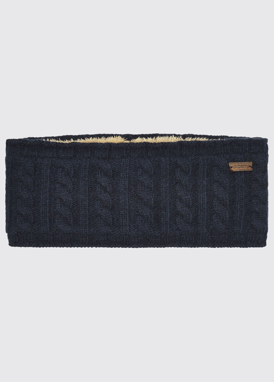 Fossa Knitted Headband - Navy