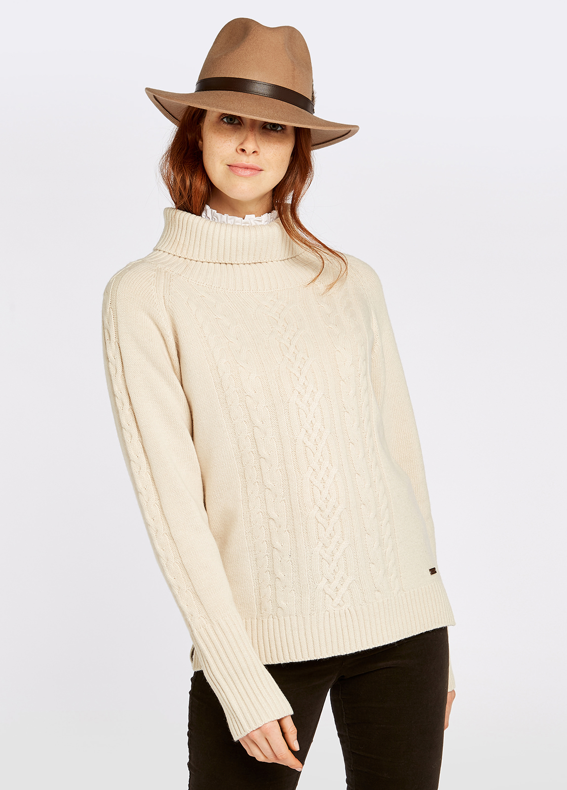 Kennedy Knitted Sweater - Chalk