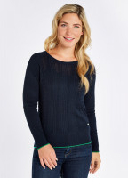 Clifton Sweater - Navy