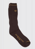 Short Boot Socks - Brown