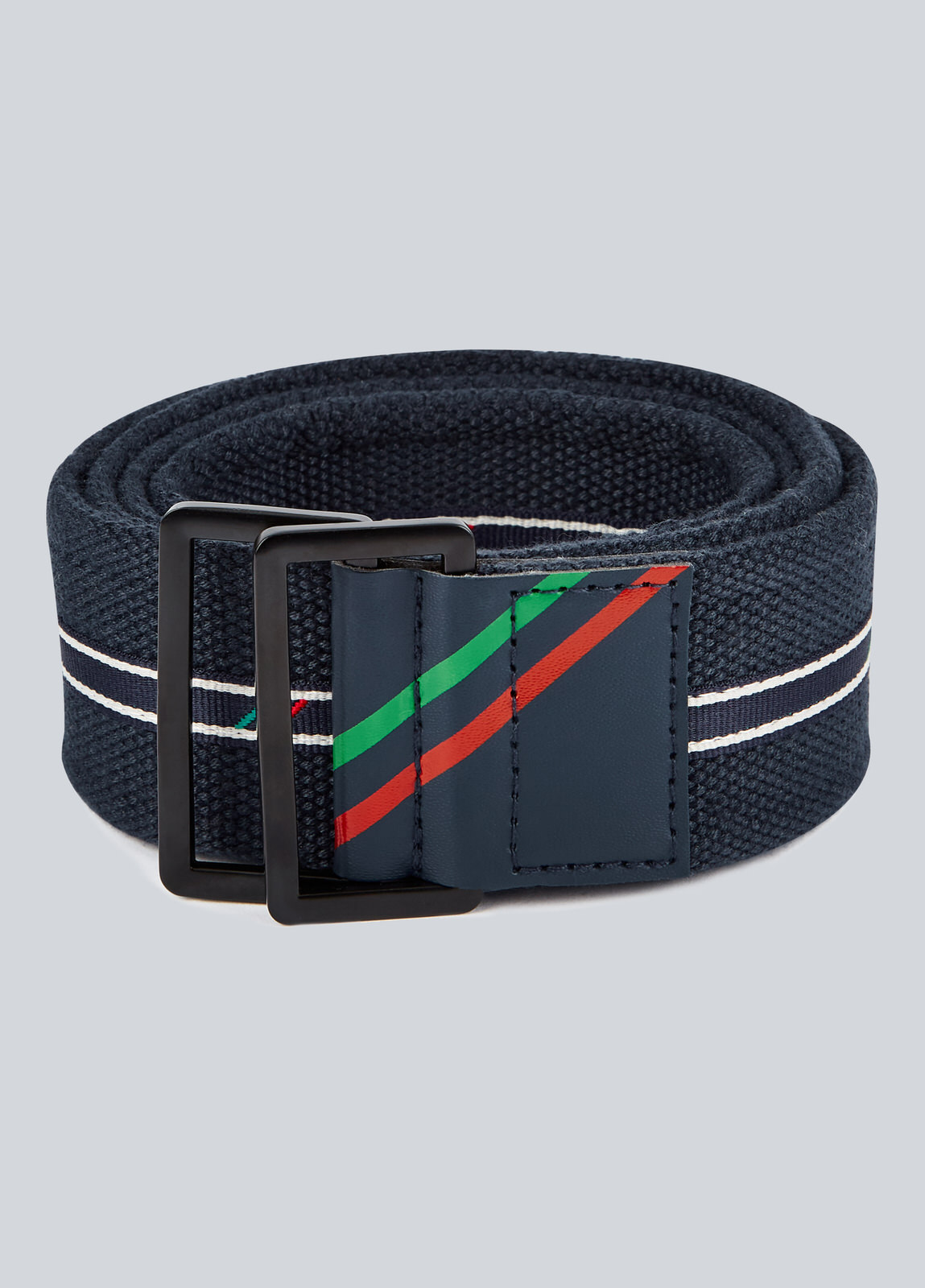 Cavallo Woven Belt - Navy