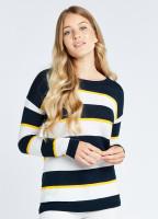 Lavelle Sweater - Navy Multi