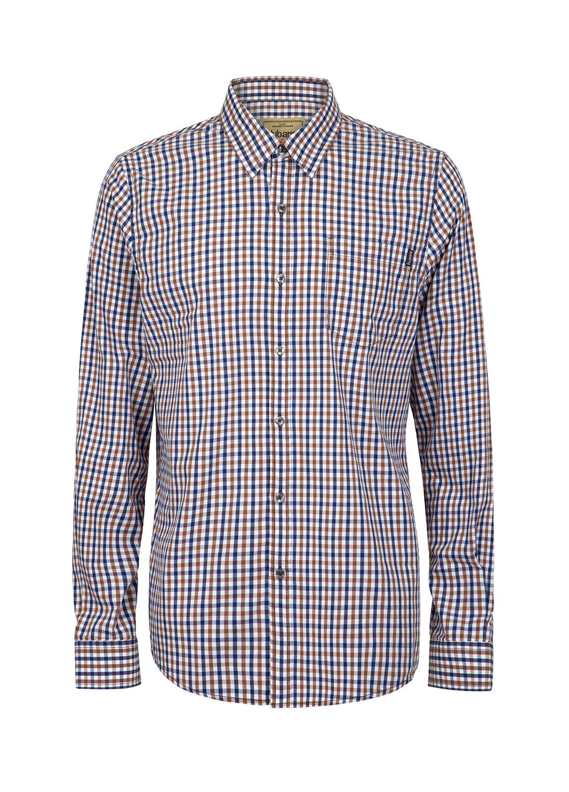 Dubarry_ Allenwood Men's Shirt - Brown Multi_Image_2