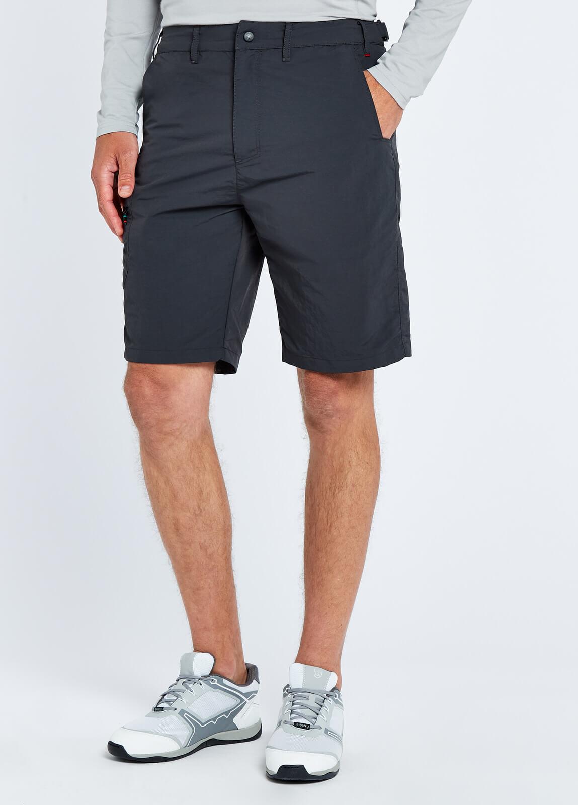Cyprus Mens Crew Shorts - Graphite