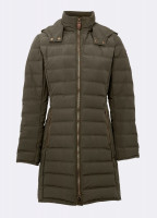 Devlin Quilted Coat - Olive