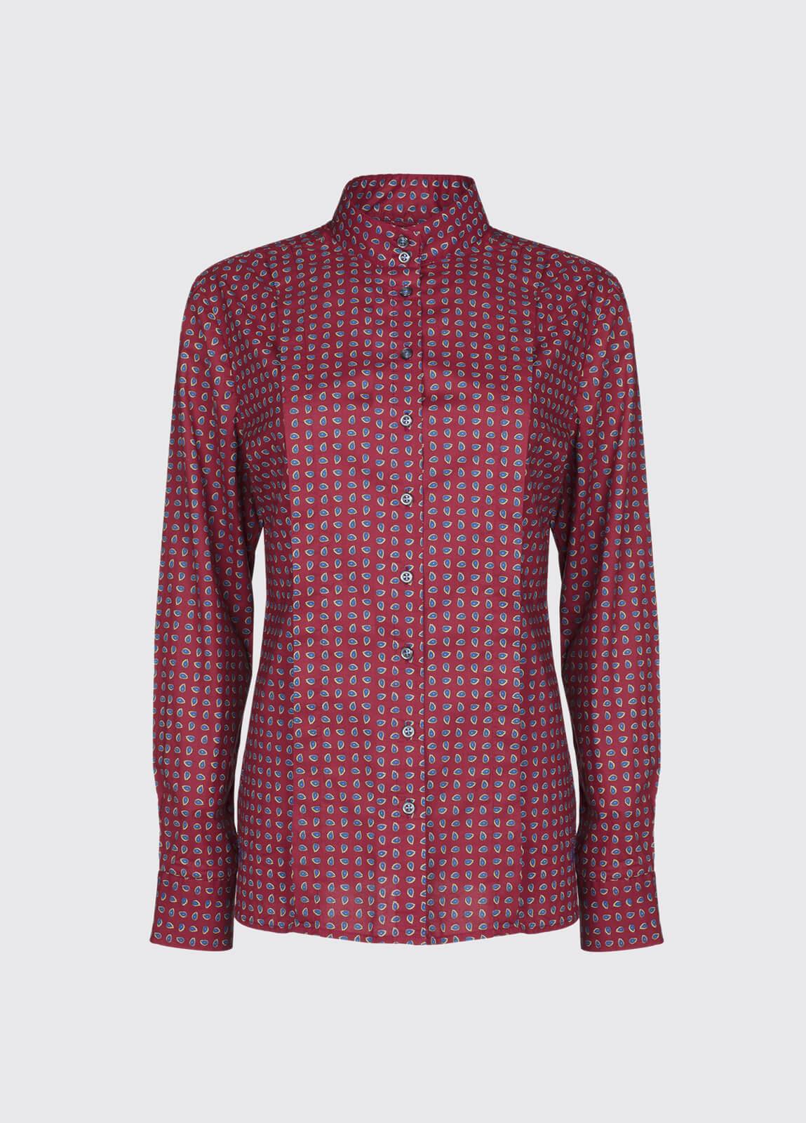 Snapdragon Shirt - Malbec