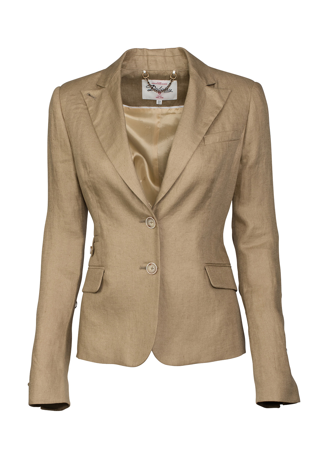 Dubarry_ Blairscove Women's Linen Blazer - Ruby Red_Image_2