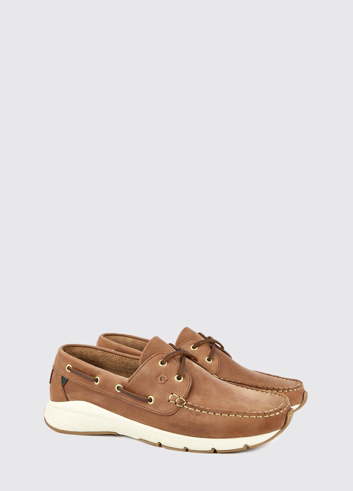 Dungarvan Lightweight Deck Shoe - Chestnut