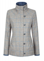 Bracken Tweed Coat - Shale
