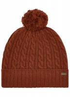 Schull Knitted Hat - Russet
