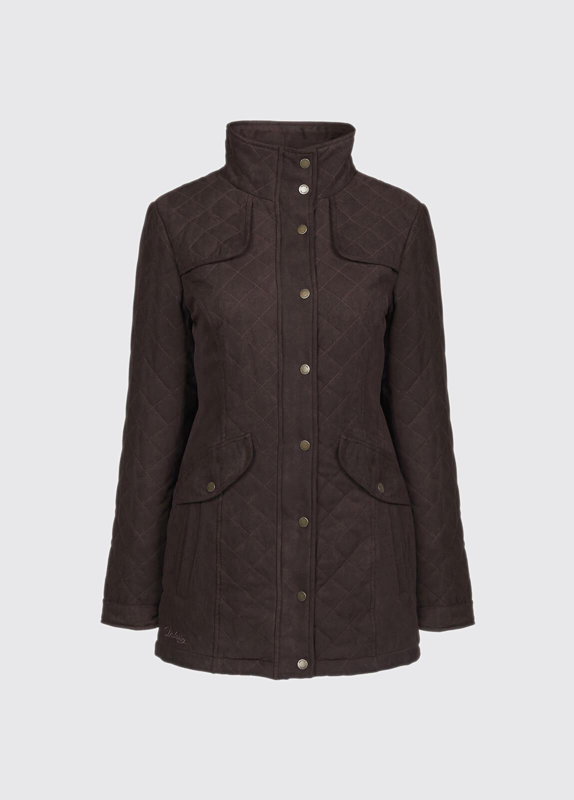 Kanturk Womens Quilted Coat - Chestnut