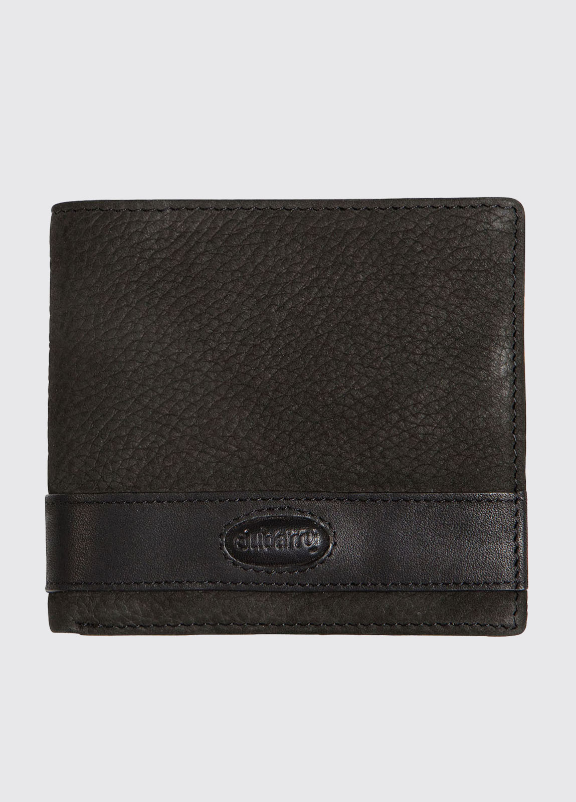 Drummin Leather Wallet - Black