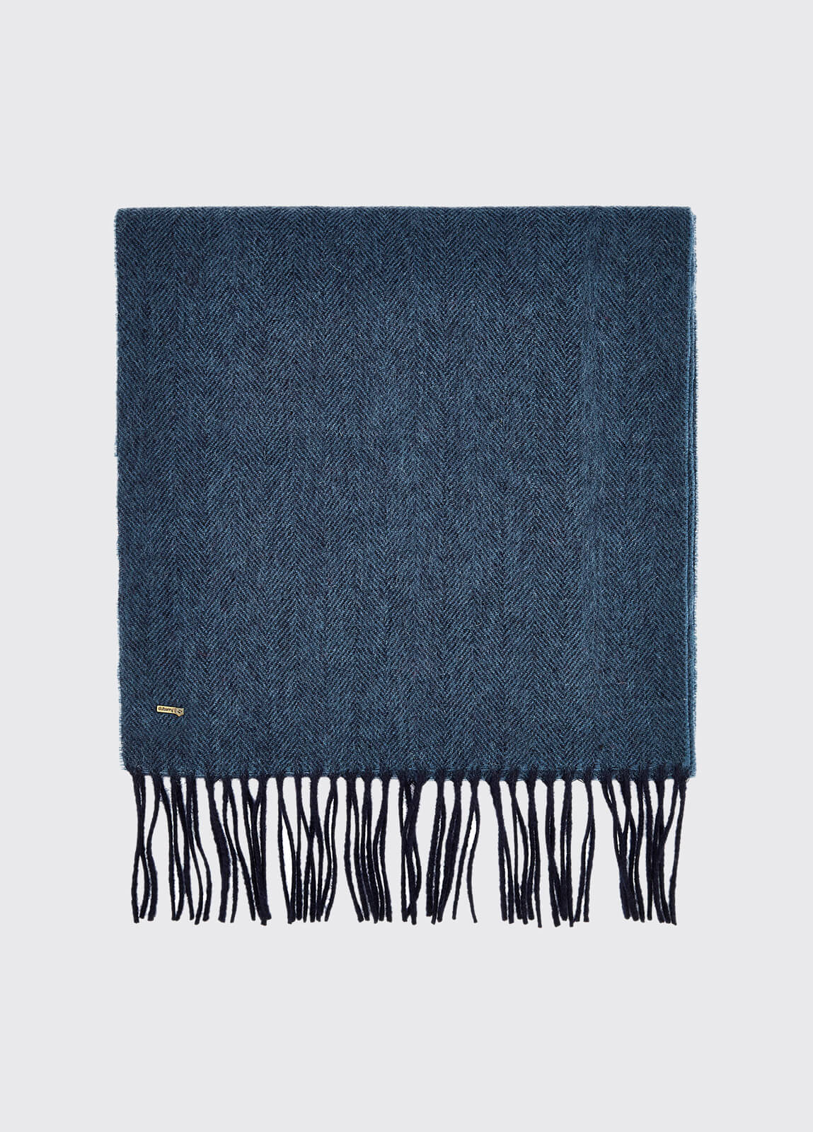 Robinson Wool Scarf - Navy
